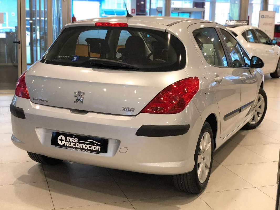 masautomocion.com - Coches de segunda mano en Valladolid - vehículos de  ocasión Valladolid - Turismos PEUGEOT 308 1.6 VTi SPORT 120CV Gasolina -  Gris ...